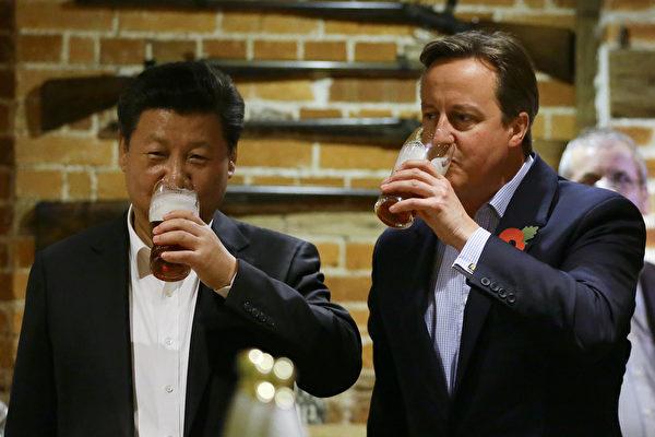 曾推動英中黃金時代 英前首相因遊說被調查