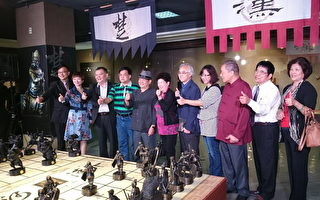 楚漢相爭磅礡氣勢 吳榮賜象棋雕刻大展