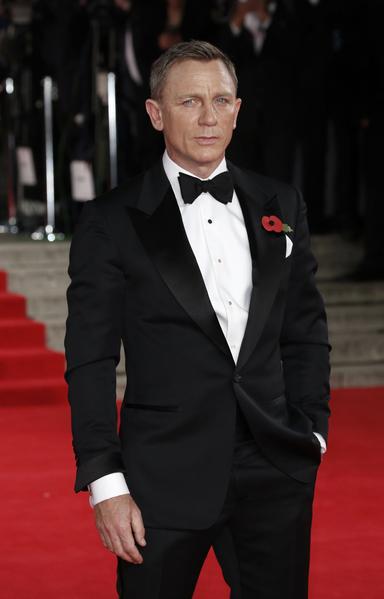 邦德的第六任扮演者丹尼爾‧克雷格。(John Phillips/Getty Images)