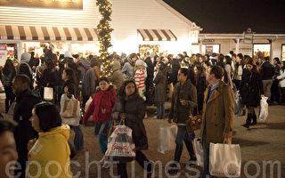 感恩節湧現出行人潮 美國加強反恐安檢