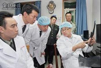 """没有任何医学背景的王立军创办了""""锦州市公安局现场心理研究中心"""",并称是中国唯一的现场心理学研究中心。从事对人体器官移植的研究,并担任该中心的主任。 (""""追查国际""""提供)"""