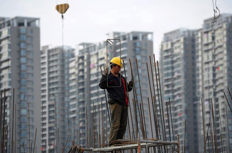 大陸房企追求高周轉,忽略了質量和安全。(AFP)
