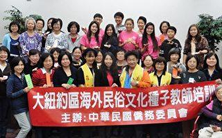 海外民俗文化种子教师培训班圆满结束