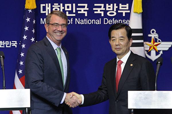 美韓防長:不容北韓挑釁 籲停止核計劃