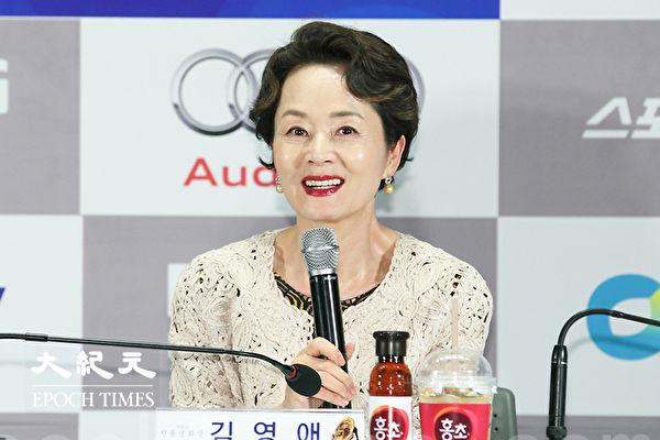 """韩""""国民妈妈""""金姈爱 因癌离世 享寿66岁"""