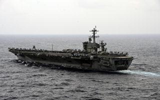 美國防長卡特在南海登上美航母