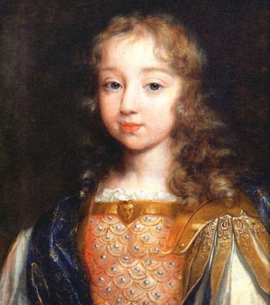 王太子时代的路易十四。Philippe de Champaigne画。(维基百科公有领域)