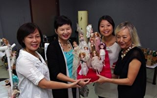 台湾设计展 许艳玲300个娃娃抢先亮相