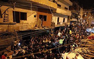 黎巴嫩首都连环爆 41死200伤