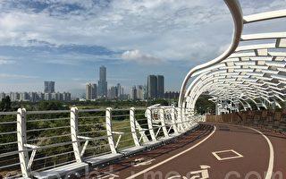 組圖:高雄4座流線自行車空中廊道