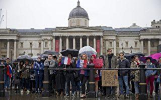 組圖:恐襲後 全球為巴黎祈禱