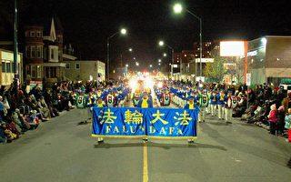 加拿大聖誕遊行 華人高喊「法輪大法好!」