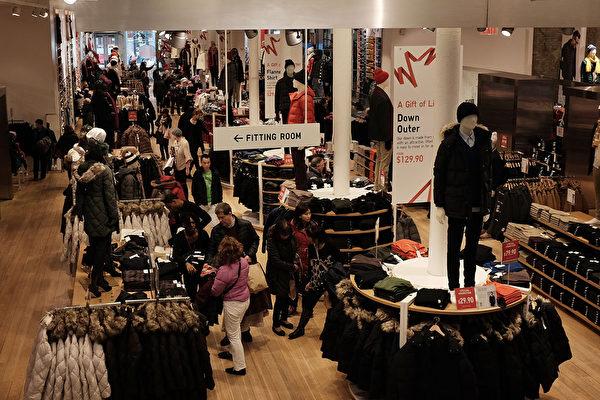 感恩節近1.9億人購物 美國人均消費增長16%