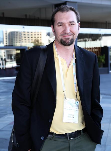 2015年11月15日到19日,國際器官移植協會(TTS)年度會議在澳大利亞墨爾本會展中心舉行。美國明尼蘇達大學科學家、胰島移植專家喬甚•威廉(Josh Wilhelm)先生認為受害者都需要得到保護。(史蒂文/大紀元)
