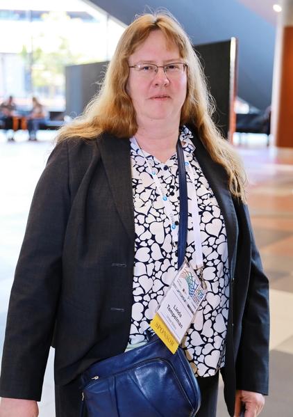 2015年11月15日到19日,國際器官移植協會(TTS)年度會議在澳大利亞墨爾本會展中心舉行。來自美國從事糖尿病細胞學療法研究的琳達•坦佩爾曼(Linda A Tempelman)女士表示,活摘器官的指控應該受到非常嚴肅的對待。(史蒂文/大紀元)