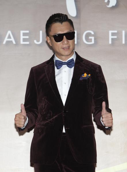 孫紅雷出席第52屆大鐘獎頒獎禮。(Chung Sung-Jun/Getty Images)