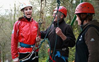 凱特王妃攀岩做慈善 教練:她太棒了