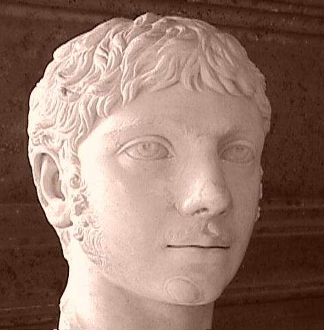 埃琉伽巴路斯(Héliogabale)皇帝头像,作者不明。(维基百科公共领域)