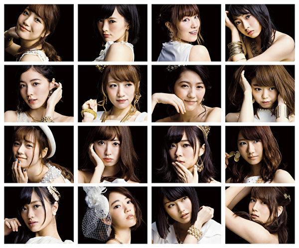 日本人氣女團AKB48新照。(華納提供)