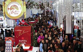 假日購物季開鑼 美大型百貨商期待翻盤