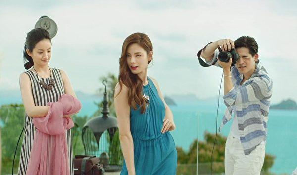 林依晨和娜娜將在《杜拉拉追婚記》中有職場對手戲。(甲上娛樂提供)