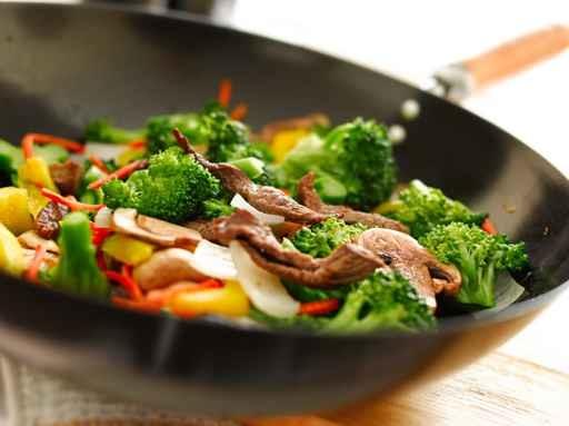 炒菜放油需要適量。(Fotolia)