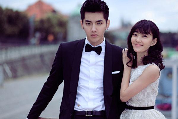 吴亦凡(左)在《有一个地方只有我们知道》中的剧照。(凯擘影艺提供)