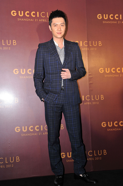 冯绍峰。(Andrew Ross/Getty Images for Gucci)