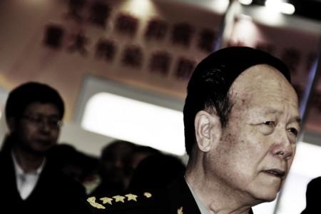 中共軍報2014年底批中共中央前軍委副主席徐才厚和郭伯雄是典型的「兩面人」。(網絡圖片)