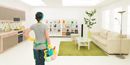 冬季的居家清洁不可小觑。(fotolia)