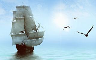 新诗:我愿再次起舵扬帆-和你