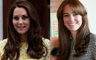 凱特王妃換髮型 稱自己新劉海太像「媽咪」