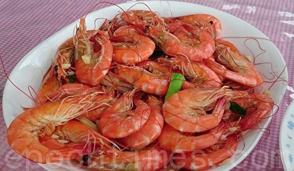 虾。(方金媛/大纪元)