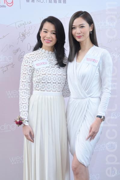 胡杏儿准备出嫁,杨秀惠开美妆店。(宋祥龙/大纪元)