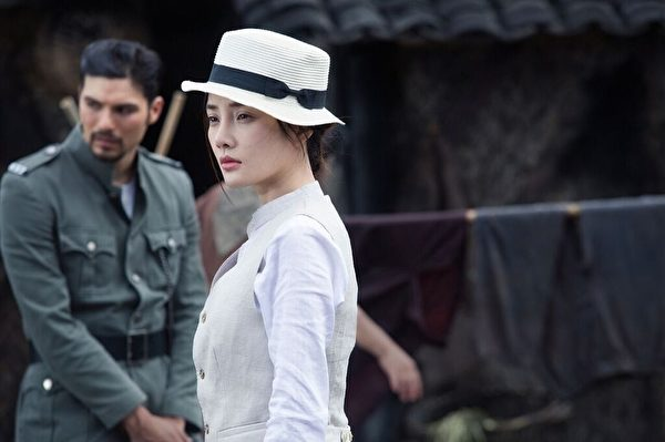 大陸女星李小璐在《消失的凶手》中的劇照。(絕色國際提供)