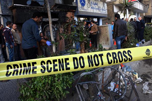 埃及開羅餐廳遭汽油彈襲擊 16人死3人傷