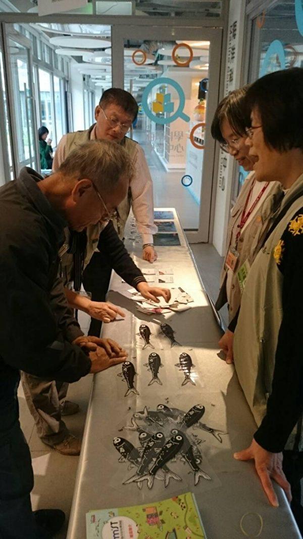 2015科普论坛在海科馆,国立科学工艺博物馆现场展示磁来运转好运到。(海科馆提供)