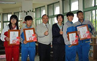 接力CPR救人  文化國中四名學生獲縣長表揚