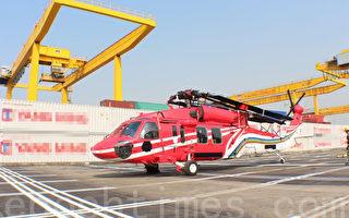 空勤總隊新生力軍黑鷹直升機抵台