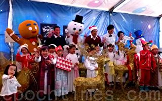 台東啟動全台最大薑餅屋迎耶誕