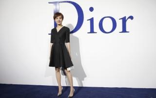 2015年12月19日,孫儷在北京出席時裝品牌活動。 (Lintao Zhang/Getty Images for Dior)