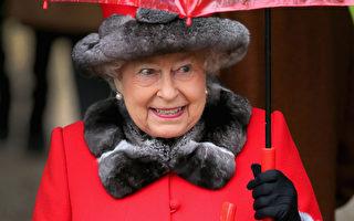 組圖:英王室聖誕日齊赴教堂 凱特一襲綠裝