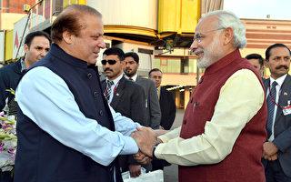 印度总理为巴基斯坦总理庆生 南亚宿敌破冰