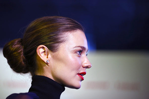 米蘭達‧可兒的髮纘。(Marianna Massey/Getty Images)