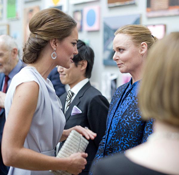 凱特王妃的古典式髻髮。(Geoff Pugh - WPA Pool/Getty Images)
