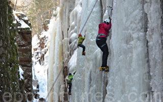 攀冰——冰壁上的華爾茲