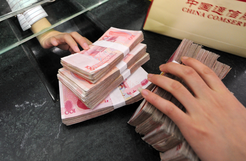 中國每年利用賭資外流的資金達萬億。(AFP)
