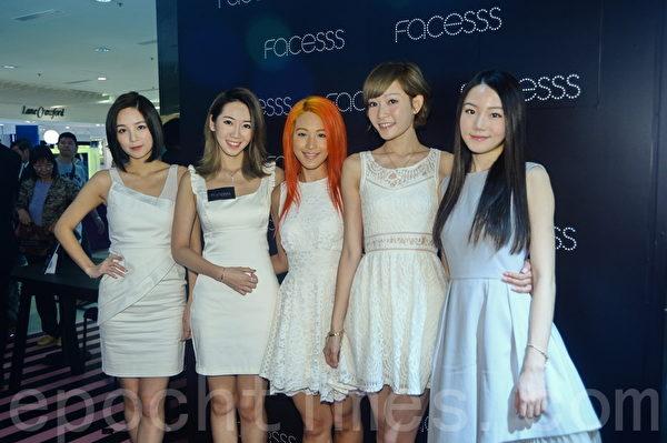 Super Girls女子组合五位成员资料照。(宋祥龙/大纪元)