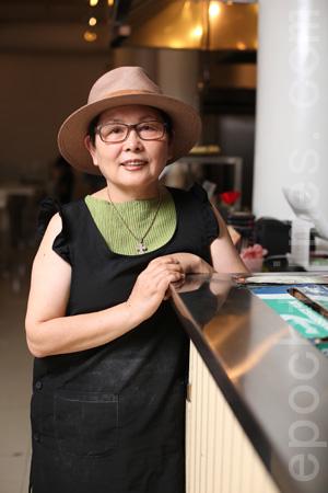 健康膳食专家朴麟顺女士。(张学慧/大纪元)
