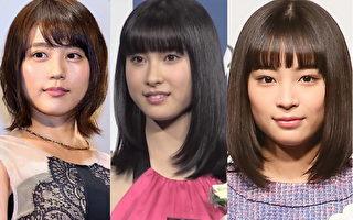 回顾2015年日本人气女星 有村架纯最旺